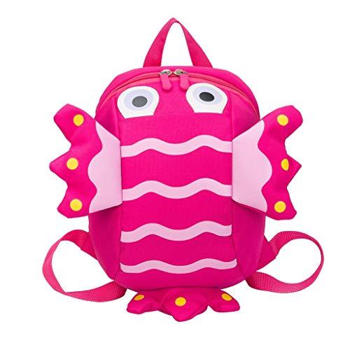 (Farmerl Small Backpack Kindergarten Bags Children Cute Animal Cartoon Schoolbag)