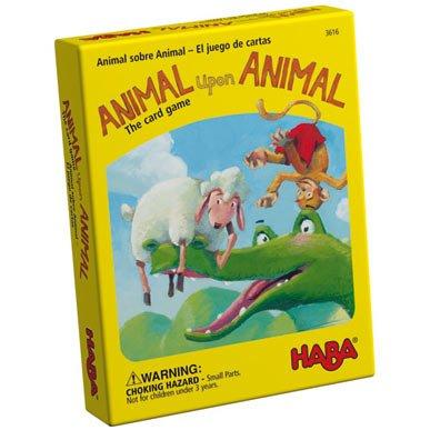 Amazon.com: Haba Animal Upon Animal - The Card Game: Toys ...