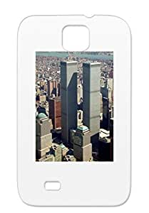 In The News World Trade Towers Wtc Twin Towers Ground Zero Politics NYC Black For Sumsang Galaxy S4 Majestic Case Cover