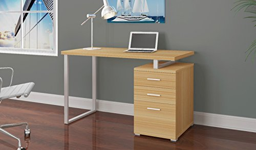 Overstock Vintondale Writing Desk, Teak by Overstock