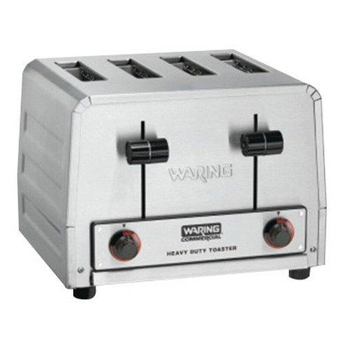 Waring WCT800 Heavy Duty 120V Four Slice Toaster
