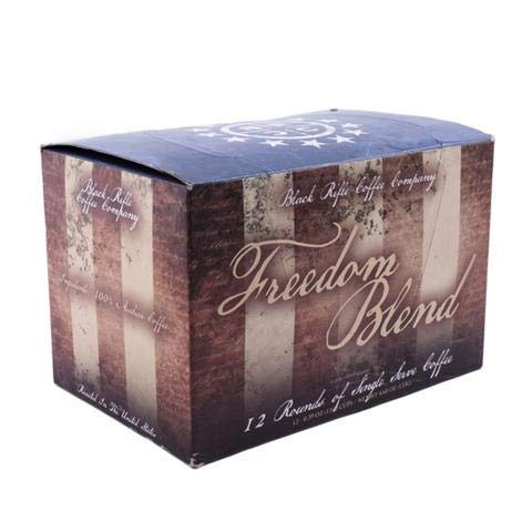 Black Rifle Coffee K-Cups 2 Boxes of 12(24 -K cups) (Freedom Blend)