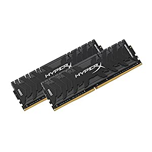 Kingston Technology HyperX Predator Black 32GB Kit 3000MHz DDR4 CL15 DIMM XMP Desktop Memory HX430C15PB3K2/32