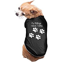 Theming My Siblings Have Tails Foot Print Dog Vest