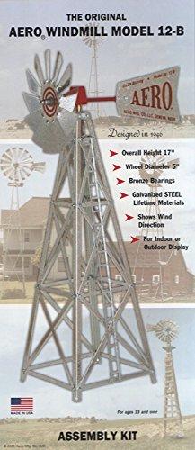 Tower Windmill (Aero 12-B Windmill Kit with Pre-Assembled Tower)