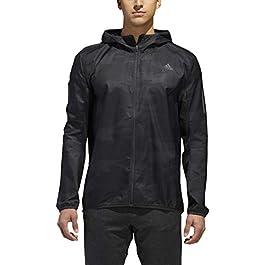 adidas Men's Running Response Graphic Hooded Wind Jacket