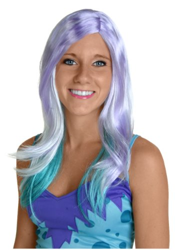 Fun Costumes womens Blue and Purple Monster Wig Standard (Purple Monster)