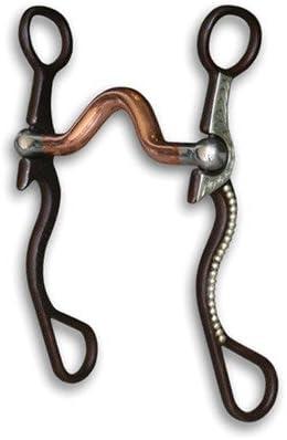 The Bob Avila Collection by Professionals Choice Equine Signature Shank Copper Port Bit (Medium)