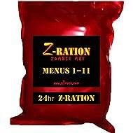 24 hr Z-Ration MRE (FSR) 1st Insp.Date 2020 - 2022 / NEW Z-Ration Zombie MRE line! (Menu 11: 24 hr Z-Ration)