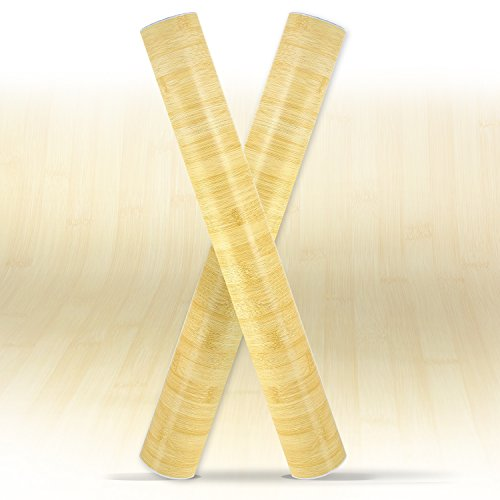 Cheap  Bamboo Wood Grain Contact Paper Roll | Self Adhesive Peel and Stick..