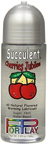 Forplay Succulent Cherries Jubilee Lube, 5.25 - Lube Forplay