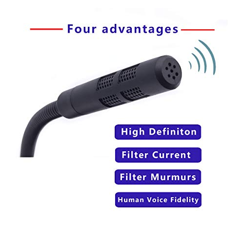 USB Microphone, Plug &Play PC Microphone with LED Indicator, Omnidirectional Condenser Microphone with Mute Button, Computer Microphone for Computer/Laptop /Desktop/Windows/Mac, Ideal for Youtube, Sk by SGYD (Image #5)