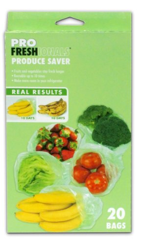 PROfreshionals 72217 Produce Saver Bags