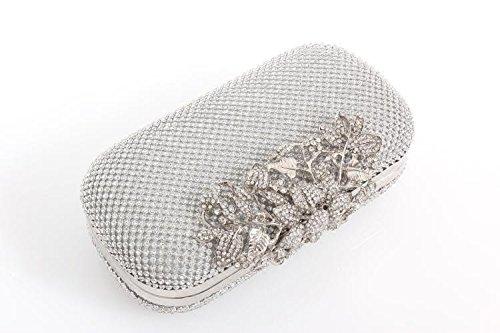 Avec Sac Strass De Gold Diamant De Femme YXLONG Avec Nouveau Sac Pochette Diamant Sac Robe Soirée Soirée Lady Banquet Sac BwqgwIAn1