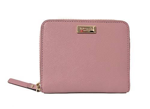 Kate Spade Darci Laurel Way Leather Zip Around Medium Wallet (Dustypeony)
