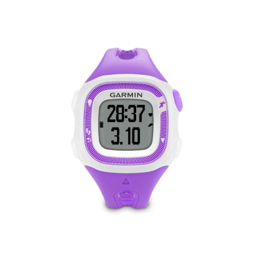 Learn More About Garmin Forerunner 15 Bundle Small, Violet/White