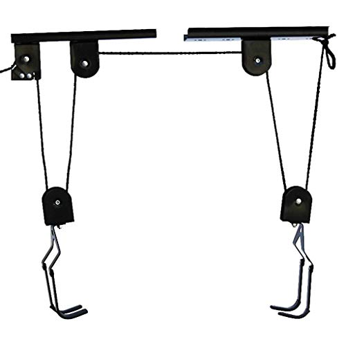 Whryspa Kayak & Canoe Lift Hoist for Garage/Canoe Hoists 125 lb Capacity with 15M Rope