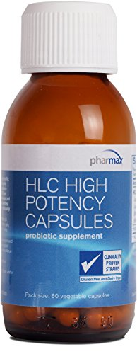 Pharmax - HLC High Potency Capsules - Probiotics to Promote Gastrointestinal Health in Adults and Children* - 60 Capsules