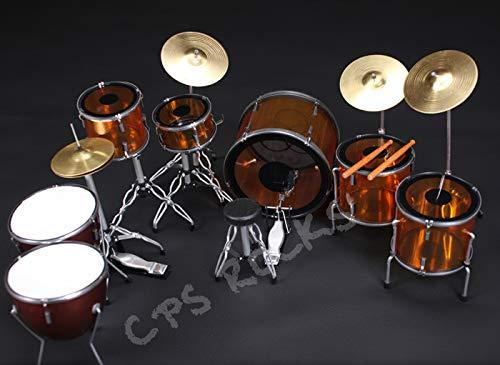 RGM345 John Bonham Led Zeppelin Miniature Drumkit ()