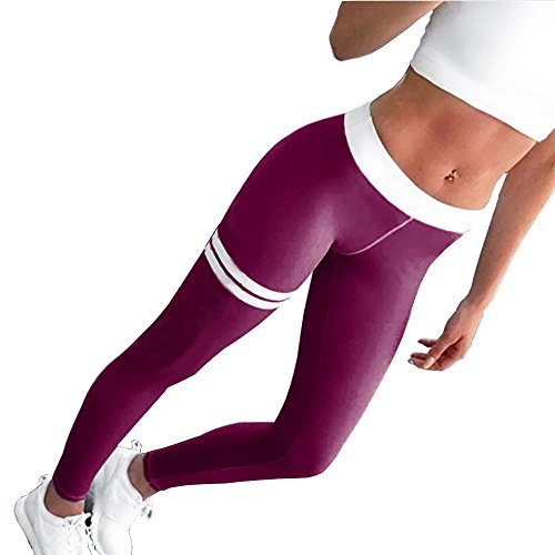 DIMANUL Yoga Pants for Women Compression Workout Leggings Tummy Control Yoga Leggings Capris Sexy