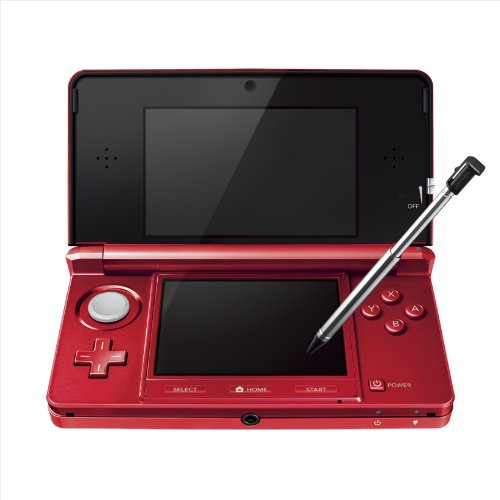 Nintendo 3ds Console - Flare Red (Japanese Imported Version - Only Plays Japanese Version Games)