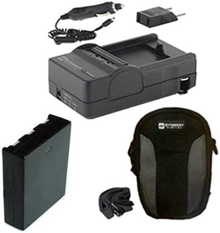 SDC-21 Case SDM-1555 Charger Syenrgy Digital Camera Accessory Kit Works with Canon PowerShot ELPH 140 IS Digital Camera includes SDNB11L Battery
