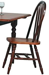 Fruitwood Arrowback Side Chair by Winners Only - Fruitwood (519SF) (Set of 2)