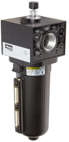 Parker P3NLA98LSN Lubricator, Metal Bowl with Sight Gauge, No Drain, 250 scfm, 1'' NPT by Parker