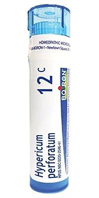 Boiron Homeopathic Medicine Hypericum Perforatum, 6C Pellets, 80 Count Tube