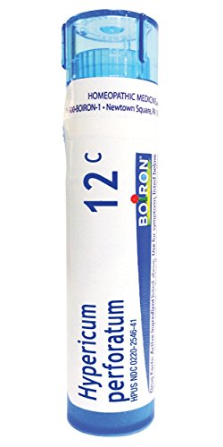 Boiron Hypericum Perforatum 12C, 80 Pellets, Homeopathic Medicine for Nerve Pain