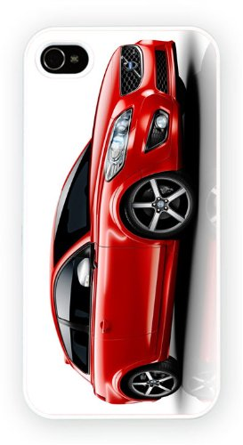 Volvo C30 RDesign Red, iPhone 5 5S, Etui de téléphone mobile - encre brillant impression