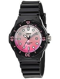 Casio Women's LRW-200H-4EVCR Dive Series Analog Display Quartz Black Watch