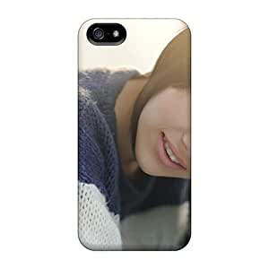 Premium Case With Scratch-resistant/ Melissa Clark Brunette Hair Gray Eyed Piercing For SamSung Galaxy S4 Phone Case Cover