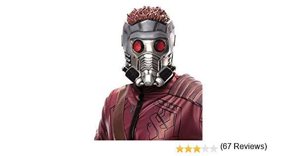 Rubies Costume Co. Inc Adult Star Lord 3/4 Mask Standard: Amazon ...