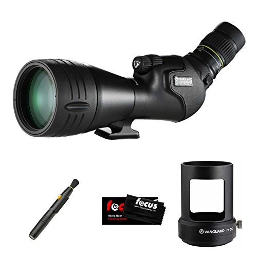 Vanguard 20-60 x 82mm Spotting Scope w/Angled Eyepiece & Digiscoping Bundle by Vanguard
