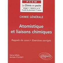 Chimie générale, tome 1 : Atomistique et liaisons chimiques