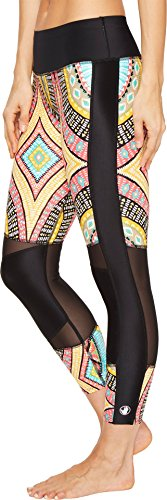 Body Glove Women's Culture Cobra Capris Black Swimsuit Bottoms