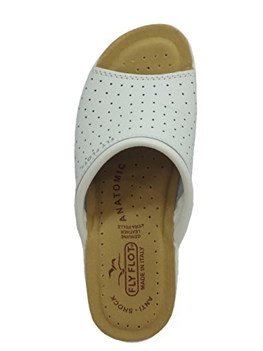 Chaussons Bianco Femme pour Fly Flot 5RwTTHqxO