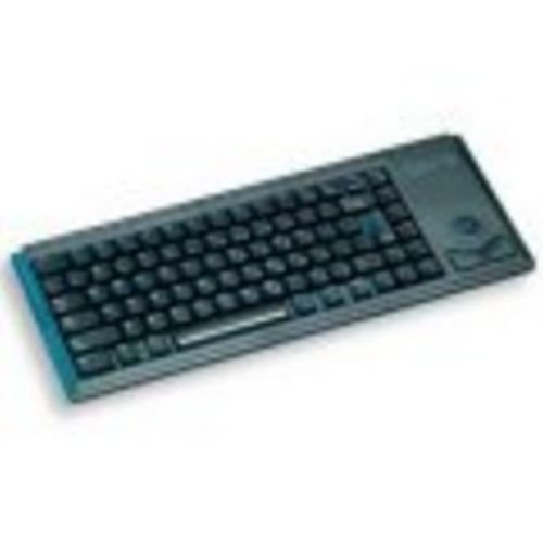 CHERRY G84 UltraSlim Keyboard w/Trackball (International), Black - 83 key