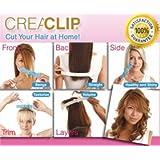 Original CreaClip Set – As seen on Shark Tank – Professional Hair Cutting Tool