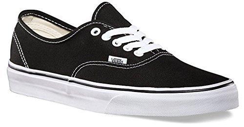 fan products of Vans Authentic Unisex Skate Trainers Shoes (12.5 B(M) US Women / 11 D(M) US Men, Black)