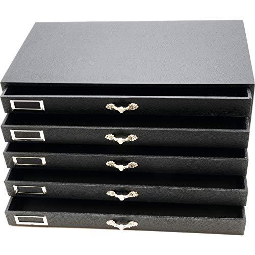 5 Tray Jewelry Gemstone Bead Organizer Storage Case from FindingKing