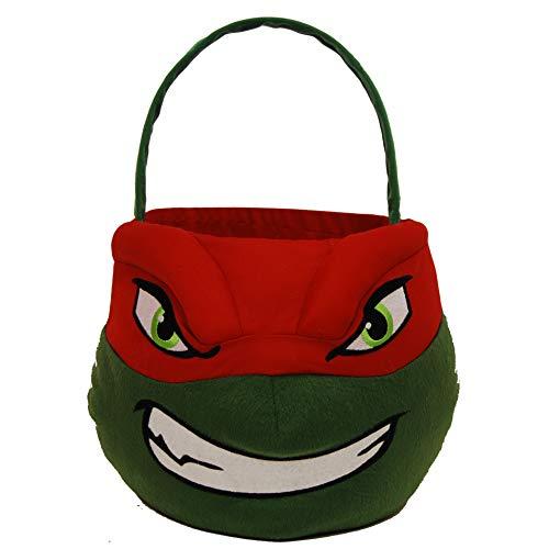 Teenage Mutant Ninja Turtles TMNT Raphael Jumbo Plush Basket]()