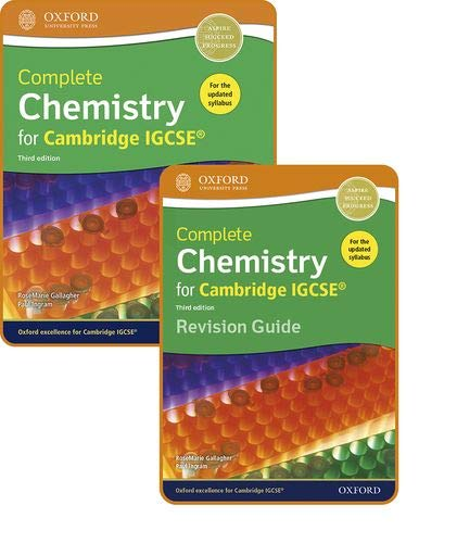 Complete Chemistry for Cambridge IGCSE®: Student Book ...