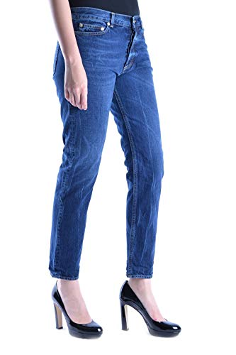 Golden Goose Mujer Mcbi14581 Algodon Jeans Azul PRvfP0wq