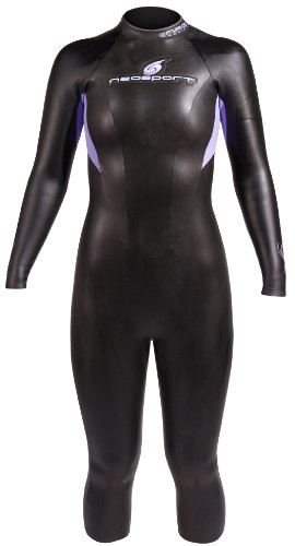 NeoSport Wetsuits Women's 5/3 Triathlon Full Suit (Black, 6) - Triathalon, Swimming & - Triathalon Wet Suit