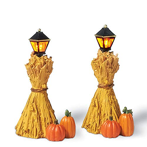Department 56 Corn Stalk Lanterns (Set of 2)