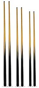Billardqueues mit 11-mm-Schraubspitzen, 6 Stück, jeweils 2 x 122, 132, 145...