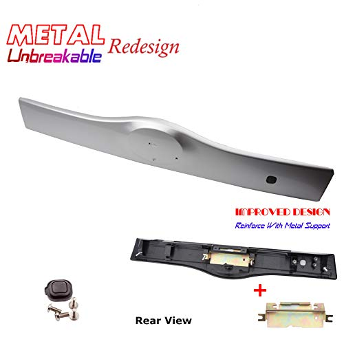 - Rear Exterior Tailgate Liftgate Handle Garnish For 04-09 Toyota Prius 1F7 Classic Silver Metallic 2004 2005 2006 2007 2008 2009