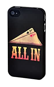 """SKILLFWD Poker Hard Case, para iPhone 4S, """"ALL IN"""""""